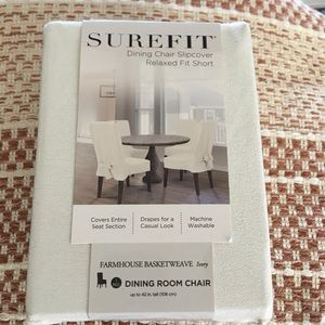Surefit dining chair slipcover